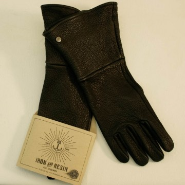 Buffalo gauntlet rider gloves