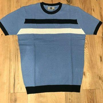 Polo tricot rétro Goldhawk