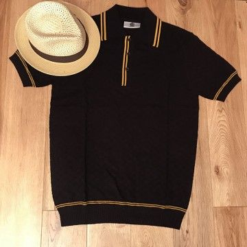 Polo maille Macgriff noir