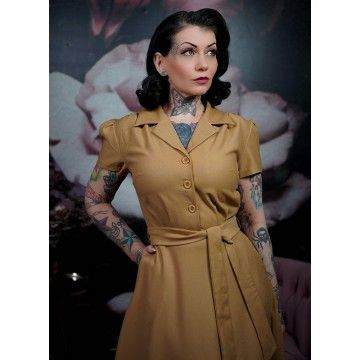 Robe années 40 Nora