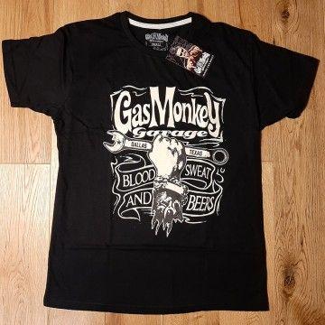 Tee-shirt Mechanics Spanner black Gas Monkey