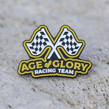 Pins racing team Age of Glory