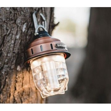 Lampe portable cuivre Barebones