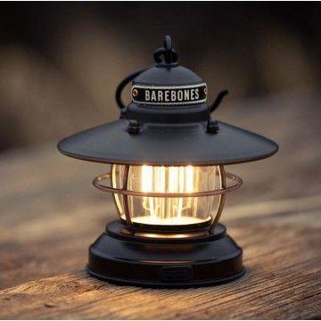 Mini lanterne Edison noire Barebones