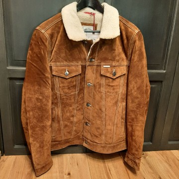 Blouson open road suedé Iron and Resin