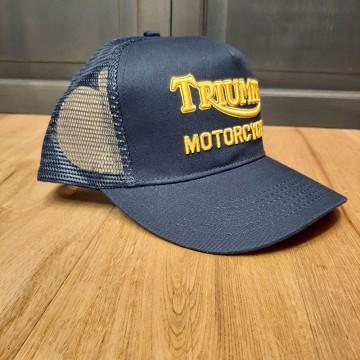 Casquette trucker indigo Triumph