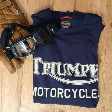 Tee-shirt Ignition indigo Triumph