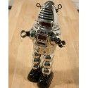 Planet robot en chrome