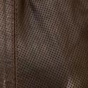 Blouson Milano cuir Marron