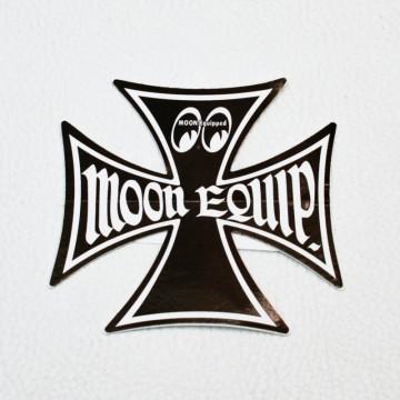 Sticker Moon Maltese cross
