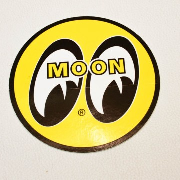 Sticker Moon rond