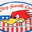 Sticker oval Us Clay Smith