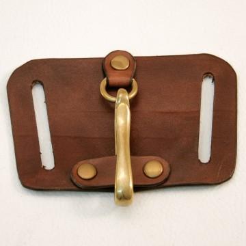 Porte porte Clés cuir