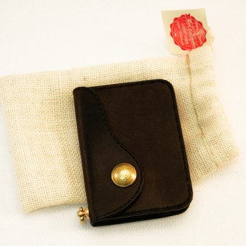 portefeuille cuir noir petit modèle
