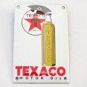 Plaque émaillée Texaco bouteille
