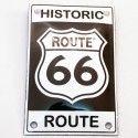 Plaque émaillée Route 66