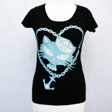 Tee shirt Femme sailor heart