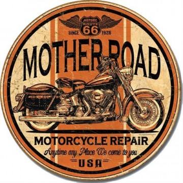 Plaque Mother road repair