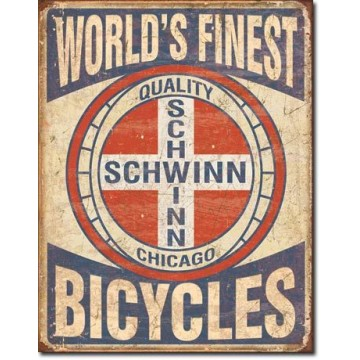 Plaque Schwinn - world's finest