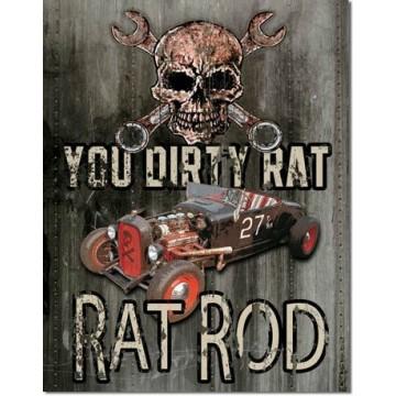 Plaque Legend dirty rat