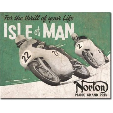 Plaque Nortonisle of man
