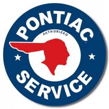 Plaque Pontiac service