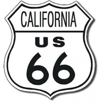 Plaque Route 66 california