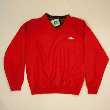 T-shirt microfibres Chevrolet rouge