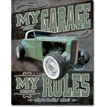 Plaque My Garage