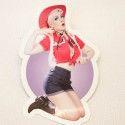 Sticker Miss Liz Cherry country