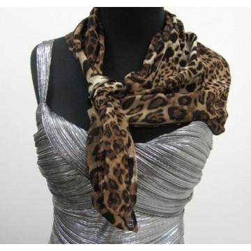 scarf leopard