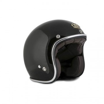 Casque 70's Helmets black gloss