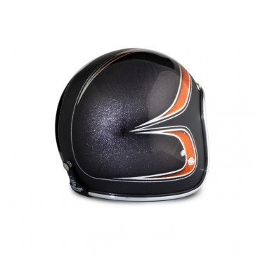 Casque 70's Helmets superflacke black
