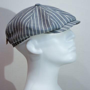 Casquette retro Stetson hatteras stripes