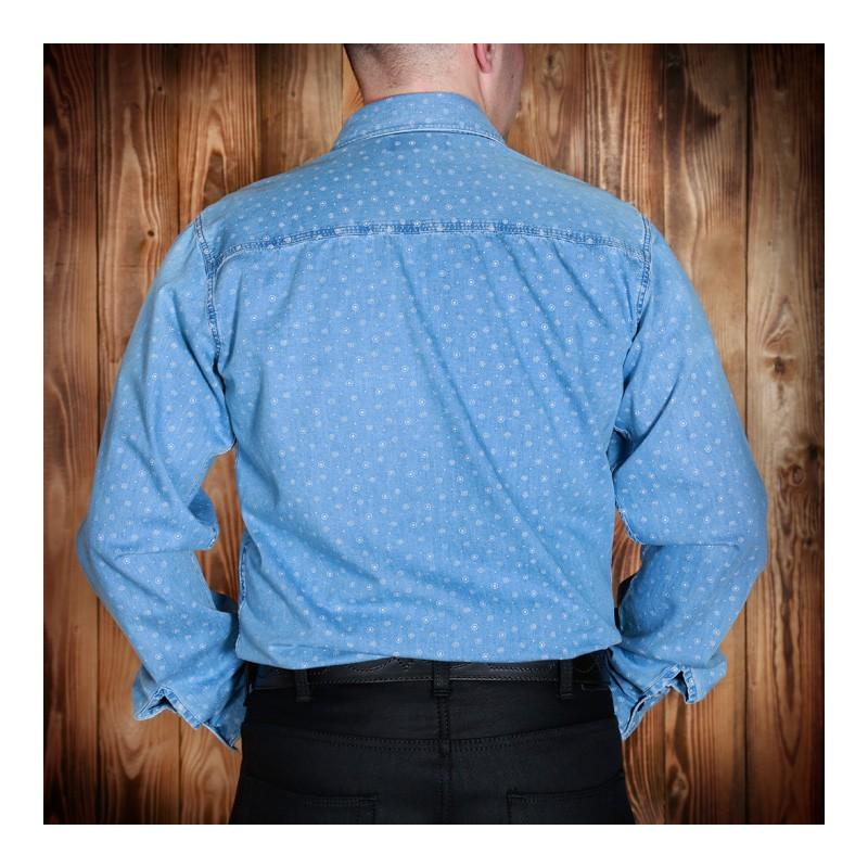 chemise 1937 blue stifl