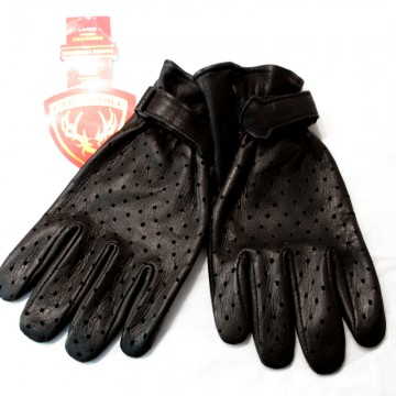 Gants Maverick classic vented black Churchill