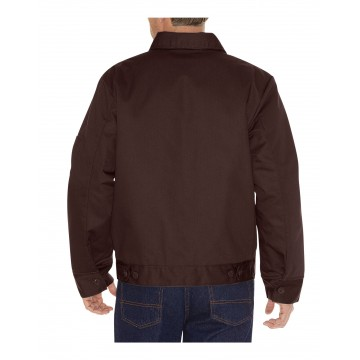 Blouson Dickies Eisenhower marron doublé