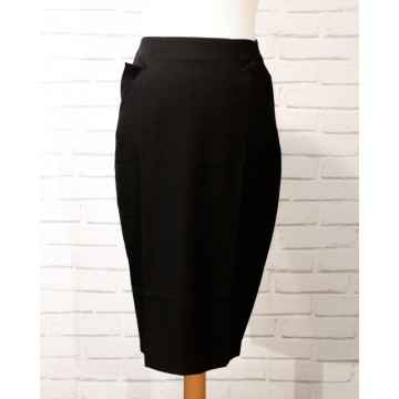 jupe crayon retro Lisa black