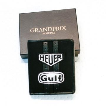 portefeuille racing noir gulf GPO