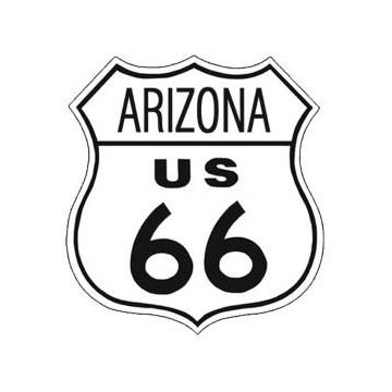 plaque métal route 66 Arizona