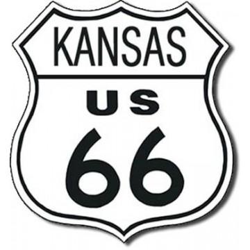 plaque route 66 Kansas