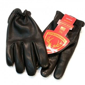 Gants Churchill black classic