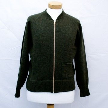 sweater olive C2 1943 Pike Brothers
