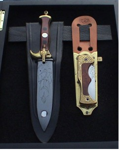 réalisation de couteaux par Von Dutch