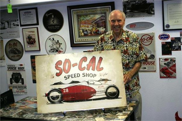 Alex Xydias, créateur du So-Cal Speed Shop