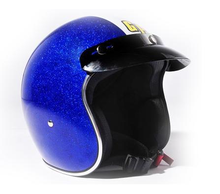 casque GP Classic Helmet bleu