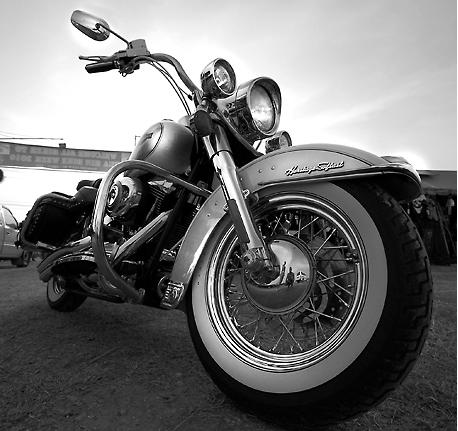 Moto Custom vue en Thailande
